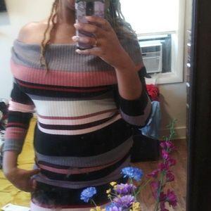 🤗 Hug My Curves Sweater Dress